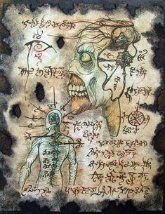 NECROMANCER FORMULAE zombie Cthulhu larp Necronomicon by zarono