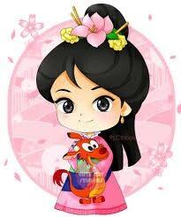 Mulan y mushu❤