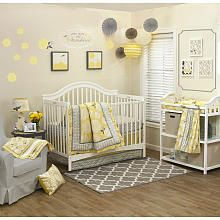 Farallon The Peanut Shell Stella 4-Piece Crib Bedding Set
