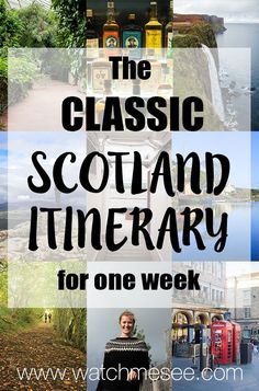 One week in Scotland might be barely enough to scratch the surface, but let's see how many highlights you can see with this classic Scotland itinerary.