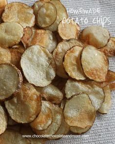 Homemade Potato Chips-so much better tasting than anything you can buy in the store!