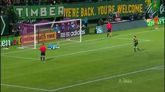 The most insane soccer penalty shootout in recent memory. Portland Timbers vs. Sporting Kansas City 10/29/2015