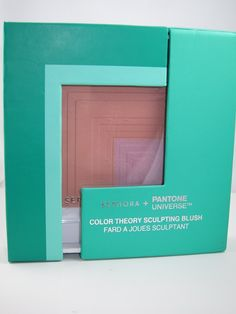 Sephora + Pantone Universe Color Theory Sculpting Blush Spring 2013