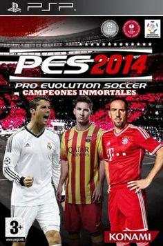 JUEGOS PSP 3000-2000-GO: PRO EVOLUTION SOCCER 2014 http://www.mediafire.com...