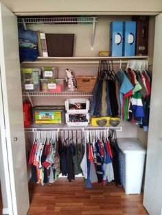 IHeart Hands-on: Kids Closet Makeover