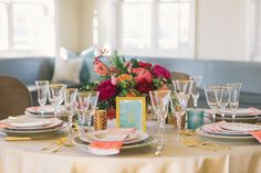 In the world of gorgeous inspiration, this stunning preppy shootreigns supreme. It's colorful, designed to perfection by True Eventand features one of the most amazing hand-painted gowns ever fromKate McDonald Bridal. Add inlush florals fromHana Floral Design, pretty paper goods fromTie That Binds, makeup byJennie Fresaand the styling expertiseofBeth Chapmanand this, loves, is the best […]