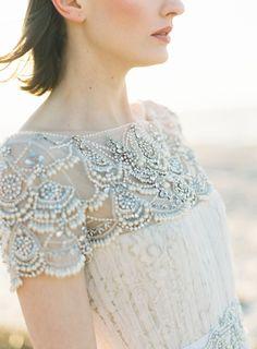 wedding dress; photo: Judy Pak Photography