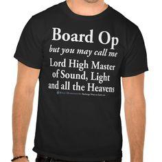 Board Op Tee T Shirt, Hoodie Sweatshirt
