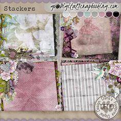 Lilacs & Lace Stackers
