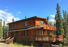 MLS #: 17-16150 Price: $152,000 Fantastic multi- level home on almost 5 acres! With spacious rooms, beautiful wood work throughout and large decks, this home boasts open concept living, a skylight for lots of natural light in the house, birch cabinetry and a great wood stove in addition to a toyo and electric heat. It stays nice and cozy in the winter! Conveniently located close to town yet feels remote for lots of privacy! Alaskan Cabins, House Information, Vacant Land, Horse Property, Level Homes, Property Search, Skylight, Open Concept, Open House
