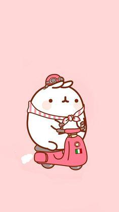 Wallpaper World, Pink Wallpaper Anime, Cute Panda Wallpaper, Soft Wallpaper, Kawaii Wallpaper, Wallpaper Iphone Cute, Doodles Kawaii, Cute Kawaii Drawings, Kawaii Art