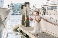 Oh, friends! Do we have a fantastic wedding to share with you today! We had the absolute pleasure of photographing Alex and Melissa's gorgeous navy blueHornblower Cruisewedding in Newport Beach, California. We loved the way Melissa chose to incorporate navy blue, and crisp whites, with just a touch of light pink. The way they tied