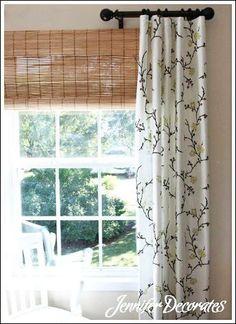 Superbe 25+ Window Treatment Ideas And Curtain Designs Photos | Pinterest | Roman Shades  Kitchen, Faux Roman Shades And Bathroom Windows