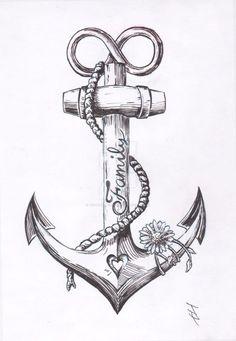 Anchor Tattoo Design by JoshThompsonART.d … auf … – … Spencer – diy tattoo image Anchor tattoo design by JoshThompsonART. Tattoo Drawings, Body Art Tattoos, Small Tattoos, Sleeve Tattoos, Tatoos, Navy Tattoos, Temporary Tattoos, Print Tattoos, Anchor Sleeve Tattoo