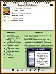 Store those hard-copy recipes and favorites from mom in an iPad app that let's you make your own cookbook.