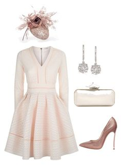"""""""Untitled #952"""" by lovelifesdreams on Polyvore featuring Maje, Casadei, Jimmy Choo and Ross-Simons"""