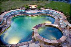 mood lighting for pool