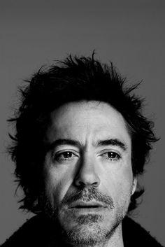 Portrait of Robert Downey Jr. by Nigel Parry