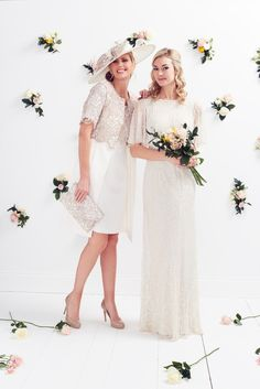 We have a beautiful collection of Mother of the Bride outfits for your special day. Serenity & Grace stock the very best pieces from some of the UK and Irelands leading design houses including Caroline Kilkenny, Gina Bacconi & Dynasty UK.