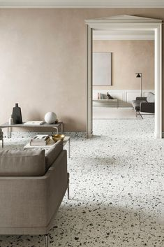 In tune with the trend for all things Terrazzo, we were rather taken with the Venice Villa tile collection from Iris Ceramica.