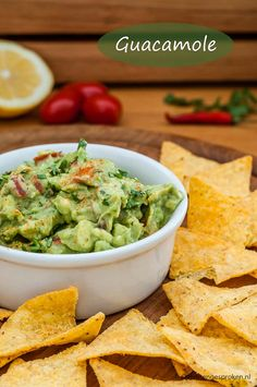 Our recipe for The Ultimate Guacamole is a big hit around here. Avocado, tomato, lime, cilantro and more! Mexican Food Recipes, Keto Recipes, Cooking Recipes, Ethnic Recipes, Homemade Guacamole, Guacamole Recipe, Tapenade, Doritos, Marilyn Denis Recipes