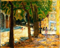 Pierre Bonnard (French, 1867-1947) > Boulevard Exelmans, Paris, 1925 | Oil on…