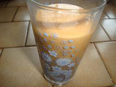 Milk-shake aux pèche et abricot