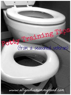 Time to potty train? Potty training tips from a seasoned veteran.  Oh boy. I think I'll try this method.