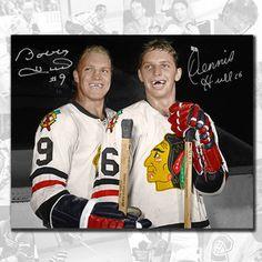 Blackhawks Hockey, Chicago Blackhawks, Chicago Cubs, Ice Hockey Players, Nhl Players, Minnesota North Stars, Bobby Hull, Hockey Pictures, Hockey Games
