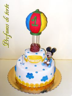 Sabrina Cozzo #cakedesign #cartoon #topolino