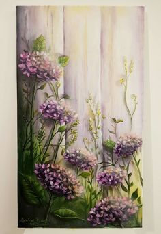 Painting On Wood, Painting & Drawing, Wood Pallet Art, Acrylic Flowers, Idee Diy, Chalkboard Art, Easy Paintings, Painting Inspiration, Flower Art