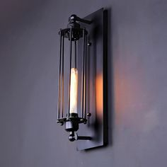 66.73$  Buy now - http://ali2pl.worldwells.pw/go.php?t=32524027231 - Retro Loft Vintage Industrial Walkway Lights Hallway Lights Antique Entrance Lights Balcony Wall Lamps for Home Decor EMS Free
