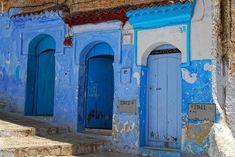 Cidade azul - Marrocos
