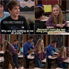 Girl Meets World (2x16) --> her look of confusion is great