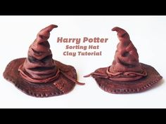▶ Sorting Hat Polymer Clay Tutorial - Harry Potter Tutorial #1 哈利波特分院帽粘土教程 #1 - YouTube
