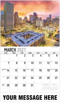 2021 Texas Scenic Wall Calendars low as Imprinted for Business Advertising. Promote your business name, logo and ad message all year! Date Squares, Calendar App, Us Holidays, Free Advertising, Historical Sites, North America, Houston, Skyscraper, Digital Marketing