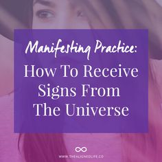 There's one part of manifesting that you might not be doing. Learn how to receive signs from the universe and have fun with your practice.