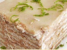 Pastel de limon frío - Las Recetas de Marmiton: Pagina de la receta