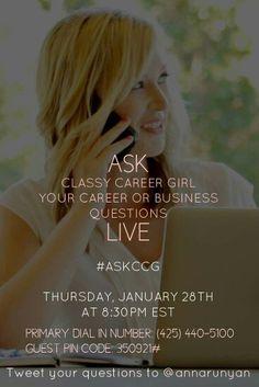 CCG Live Call