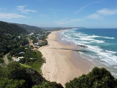 Wilderness beach on the Garden Route, Cape Province - one of our most favorite places in SA Tsitsikamma National Park, Table Mountain Cape Town, Garden Route, Out Of Africa, Beautiful Places In The World, Travel And Leisure, Where To Go, Strand, Places To See