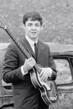 very young James Paul McCartney