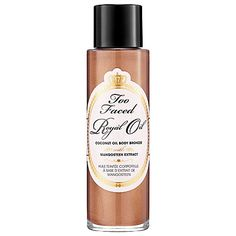 Too Faced Royal Oil Coconut Oil Body Bronzer With Mangosteen Extract