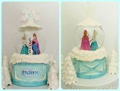 Disney Frozen Cake. Photo only.