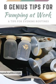 Genius tips and helpful tricks for pumping at work. The best products for those long days of breastfeeding and pumping with evening routine tips! Pumping Schedule, Pumping At Work, Evening Routine, Breastfeeding And Pumping, Fantastic Baby, How To Get Sleep, Baby Arrival, First Time Moms, Baby Hacks