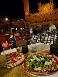 Dinner in Siena, Italy, province of Siena Tuscany