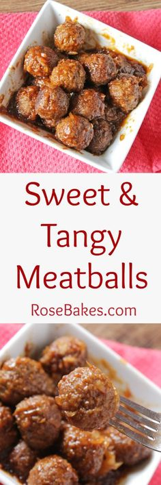 Sweet & Tangy Meatba