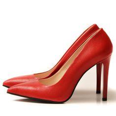 RED Stiletto shoes - romanian designers SHOP ONLINE Red Stilettos, Stiletto Shoes, Designer Shoes, Romania, Heels, Designers, Shopping, Fashion, Heel