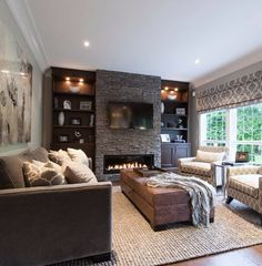 Beautiful family room … | Pinteres…