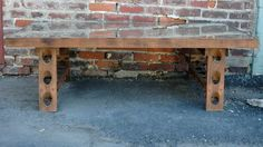 Antique Riddling Rack Coffee Table by SipesTahoe on Etsy, $1895.00