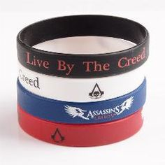 [ 71% OFF ] Assasins Creed Wristband Bracelet Game Wristband 60Pcs ** In Stock Same Day Shipping